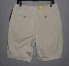 Merona Khaki Shorts Fit 1 Mid Waist & Curvy Hip Women's size 12 New NWT