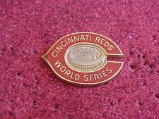 1975 Cincinnati Reds World Series Media Press Pin - Boston Red Sox