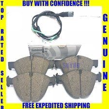 BMW Front Brake Pad Set With Sensor X5 X6 Genuine
