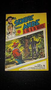Il Signore delle Ande #17 Albo Tascabile Vittorioso 1950 discreto no bollino