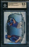 BGS 9.5 JARRED KELENIC 2018 Bowman Chrome Sterling Refractor Rookie RC GEM MINT