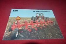 Massey Ferguson 880 345 82 43 570 57 Plow Dealer's Brochure Cdil