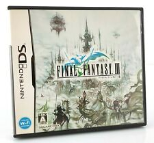 Final Fantasy III 3 - Jeu Nintendo DS JAP Japan