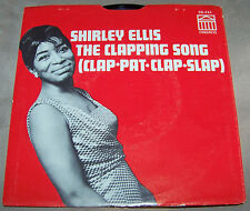 Shirley Ellis The Clapping Song/This Is Beautiful 45 Pic Sleeve Congress CG 234