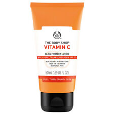 NEW ❤️ The Body Shop Vitamin C Glow Protect Lotion (SPF 30) 50ml