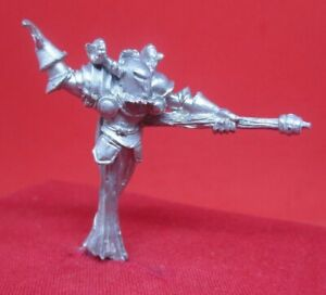 Warhammer WFB citadel metal 1985 CH5 CHAOS SORCERER BARAKASHT HELLRIDER