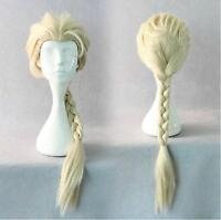 Wigs,Blond long Queue de cheval animation Cosplay fête plein cheveux
