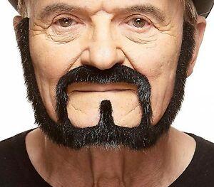 High quality Squatter fake, self adhesive beard