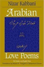 Arabian Love Poems: Full Arabic and English Texts [Three Continents Press] Nizar