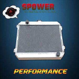 Alloy Radiator For Nissan Datsun 720 710 610 510 Series L20B STANZA 74-79 MT 3R