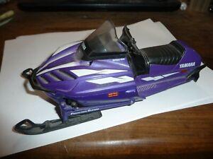 NewRay Yamaha SRX 700 Snowmobile purple Sxr viper Diecast Toy Model 1:12 Scale