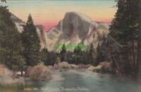 Postcard Half Dome Yosemite Valley CA