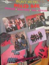 Bass Edition Heavy Metal Mixed Bag Music Book