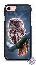 Owl Bird Sitting on Tree Branch Phone Case for iPhone Samsung LG Google HTC etc