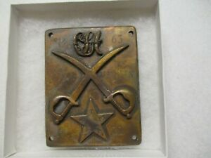 1863 TEXAS MARINES BREAST PLATE