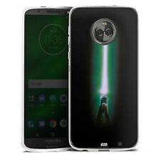 Lenovo MOTO g6 PLUS IN SILICONE GUSCIO Case Cellulare-Lightsaber