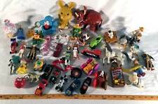 Fast Food TOY Lot Of 42 Loose Toys McDonalds Burger King Disney Hot Wheels