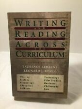 Writing and Reading Across the Curriculum (1982)