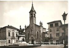 ASTI - Piazza e Monumento a Umberto I° - Palazzo V. Alfieri e Chiesa S.Giuseppe