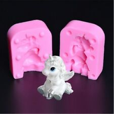 Unicorn 3D Candle Mold Silicone Soap Bar Mold DIY Craft Plaster Resin Mould