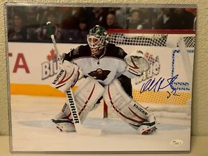 Nicklas Backstrom Signed Minnesota Wild 11x14 Photo JSA