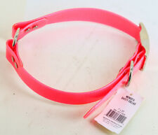 """Mendota Products Safety Dog Collar Chestnut 1"""" x 20"""" Hot Pink NEW"""