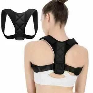 Posture Corrector Back Straight Shoulders Body Wellness Brace Strap Correction