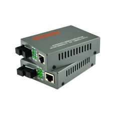 1 Pairs/lot HTB-GS-03 A/B Gigabit Fiber Optical Media Converter 1000Mbps Single