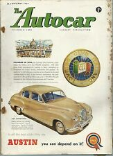The Autocar  22 January 1954  n° 3031 - Rivista Inglese - Touring Club Italiano