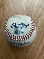 New York Yankees Game Used Baseball - Gleyber Torres single vs Twins 6/8/21
