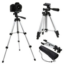 Universal Portable Aluminum Tripod Stand w/ Bag For Canon Nikon Camera Camcorder