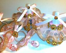 Pink&Gold Princess theme for Baby shower or  Birthday keepsake 24pcs favors