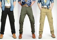 Men's Combat Cargo Jeans Size 30-40