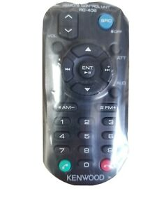 KENWOOD KDC-X398 KDCX398 GENUINE RC-406 REMOTE *PAY TODAY SHIPS TODAY*