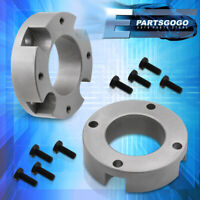 """For 07-20 Toyota Tundra Sequoia Silver 2.5"""" Front Leveling Lift Kit Spacer Block"""