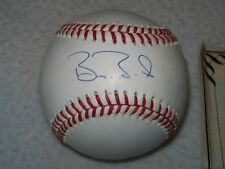 BARRY BONDS AUTOGRAPHED SIGNED NL BILL WHITE BASEBALL SAN FRANCISCO GIANTS #1
