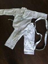 Martial Arts Costume - Kids Size 8 - All White - Needs Cleaning