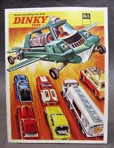 1969 USA #5 DINKY Diecast Toys CATALOG Hi Grade condition