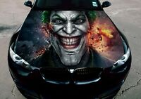 Vinyl Motorhaube Graphics Decal Der Joker Arkham Aufkleber