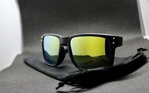Retro Holbrook Style Sunglasses Colored Frame Mirror Lens 100% UV Protection