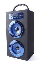 ALTAVOZ PORTATIL TORRE CAJA Bluetooth USB Radio FM Micro SD/TF MP3 Inalambrico