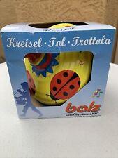 Kreisel Top Tol Trottola Bolz Ladybug Metal Toy Classic Vintage-Style Timeless