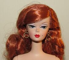 Dusk to Dawn Nude Silkstone Fashion Model Barbie Doll w/ Earrings Redhead