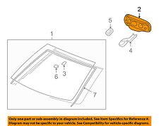 GM OEM Inside-Rearview Rear View Mirror 13581081