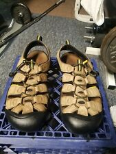 KEEN OUTDOOR HIKING SANDALS TAN MEN'S SIZE 11