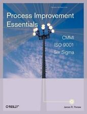 Process Improvement Essentials: CMMI, Six Sigma, and ISO 9001 James R. Persse, P
