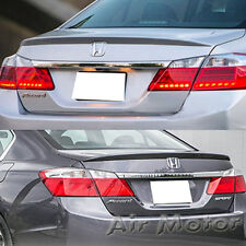 Painted Honda Accord 9th Sedan OE Type Rear Trunk Spoiler EX-L LX 13-15