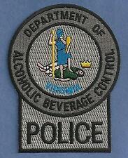 VIRGINIA ALCOHOLIC BEVERAGE CONTROL POLICE PATCH