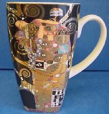 Goebel QUADRATO ART NOUVEAU TAZZA-Gustav Klimt-DIE ERFULLUNG adempimento 4396