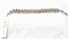 Lucky Brand Silver/Multi Color Stone Bracelet
